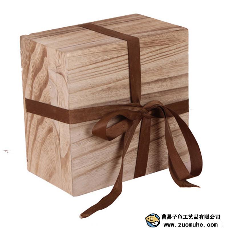 瓷器木盒 天地盖瓷器礼品盒