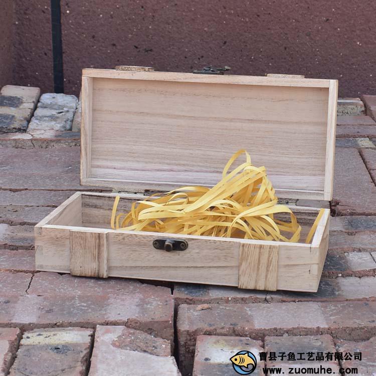 在加工定做木制包装盒的时候要注意细节?